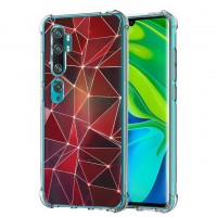 เคส Xiaomi Mi Note 10 / 10 Pro / CC9 Pro Polygon Series 3D Anti-Shock Protection TPU Case [PG004]