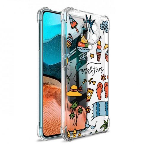 เคส Xiaomi Anti-Shock [ SUMMER ] สำหรับ Mi 11 / 10T 5G / 9T / Pro / Poco X3 NFC / F2 / F3 / Pro