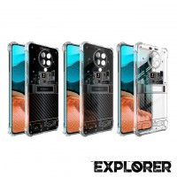 เคส POCO F2 Pro [Explorer Series] 3D Anti-Shock Protection TPU Case