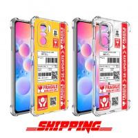 เคส POCO F3 / Redmi K40 / K40 Pro Shipping Series 3D Anti-Shock Protection TPU Case