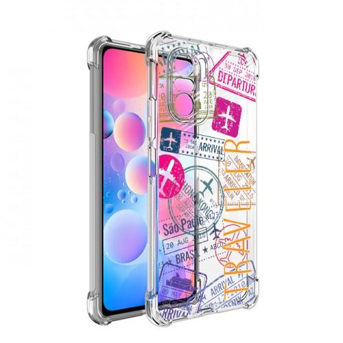 เคส Xiaomi Anti-Shock TPU Case [TRAVELER] สำหรับ Mi 11 / 10T 5G / 9T / Pro / Poco X3 NFC / F2 / F3 / Pro