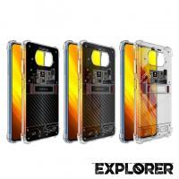 เคส POCO X3 Pro / X3 NFC [ Explorer Series ] 3D Anti-Shock Protection TPU Case