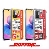 เคส Xiaomi Redmi Note 10 5G Shipping Series 3D Anti-Shock Protection TPU Case