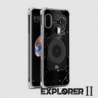 เคส Xiaomi Redmi Note 5 [Explorer II Series] 3D Anti-Shock Protection TPU Case