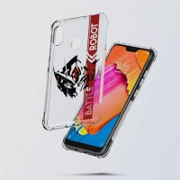 เคส Xiaomi Redmi Note 6 Pro Anti-Shock Protection TPU Case [Battle Robot]