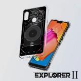 เคส Xiaomi Redmi Note 6 Pro [Explorer II Series] 3D Anti-Shock Protection TPU Case