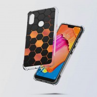 เคส Xiaomi Redmi Note 6 Pro Polygon Series 3D Anti-Shock Protection TPU Case [PG002]