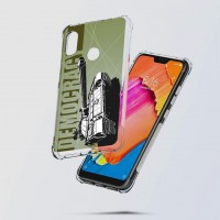 เคส Xiaomi Redmi Note 6 Pro War Series 3D Anti-Shock Protection TPU Case [WA001]