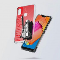 เคส Xiaomi Redmi Note 6 Pro War Series 3D Anti-Shock Protection TPU Case [WA002]