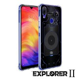 เคส Xiaomi Redmi Note 7 [Explorer II Series] 3D Anti-Shock Protection TPU Case