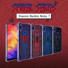 เคส Xiaomi Redmi Note 7 Spider Series 3D Anti-Shock Protection TPU Case
