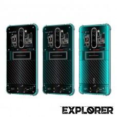เคส Xiaomi Redmi Note 8 Pro [Explorer Series] 3D Anti-Shock Protection TPU Case