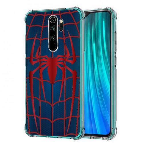 เคส Xiaomi Redmi Note 8 Pro Spider Series 3D Anti-Shock Protection TPU Case