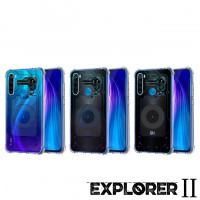 เคส Xiaomi Redmi Note 8 [Explorer II Series] 3D Anti-Shock Protection TPU Case