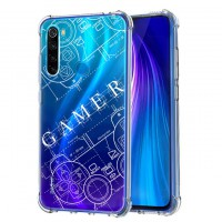 เคส Xiaomi Redmi Note 8 Anti-Shock Protection TPU Case [Gamer Illustration]