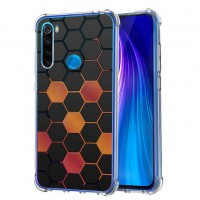 เคส Xiaomi Redmi Note 8 Polygon Series 3D Anti-Shock Protection TPU Case [PG002]