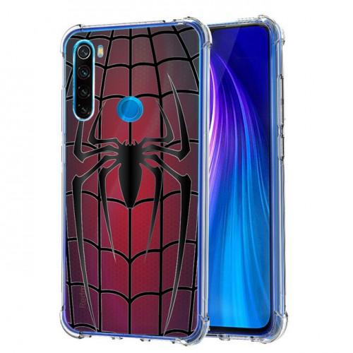 เคส Xiaomi Redmi Note 8 Spider Series 3D Anti-Shock Protection TPU Case