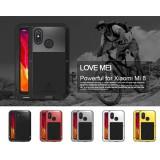 เคส Xiaomi Mi 8 Lovemei Powerful Metal Bumper [ปกป้องทั้งตัวเครื่อง]