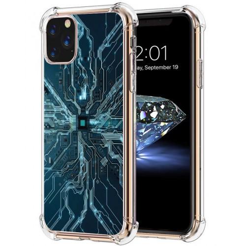 เคส iPhone 3D Anti-Shock TPU [Digital Series] สำหรับ 12 / 12 Pro / 12 Pro max / 11 / 11 Pro / 11 Pro Max / SE 2020