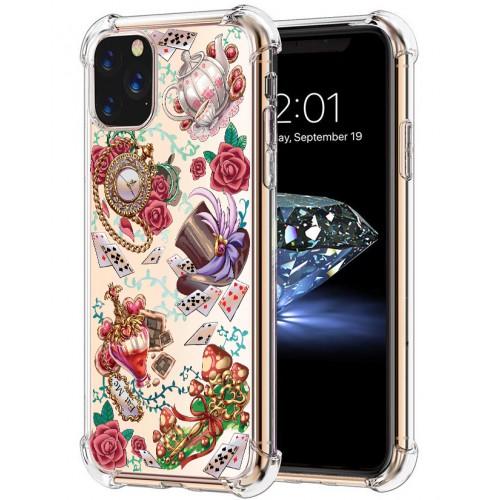 เคส iPhone Anti-Shock TPU Case [Wonderland #05] สำหรับ 12 / 12 Pro / 12 Pro max / 11 / 11 Pro / 11 Pro Max