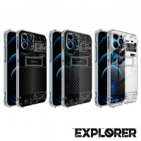 เคส iPhone Anti-Shock TPU [Explorer Series] สำหรับ 12 / 12 Pro / 12 Pro max / 11 / 11 Pro / 11 Pro Max / SE 2020