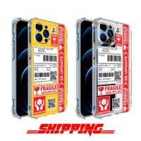 เคส iPhone 3D Anti-Shock TPU [Shipping Series] สำหรับ 12 / 12 Pro / 12 Pro max / 11 / 11 Pro / 11 Pro Max / SE 2020