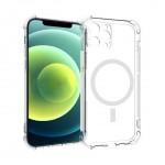 เคส iPhone 12 / 12 Pro / 12 Pro Max Anti-Shock Protection with Magsafe and Lens Protector