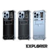 เคส iPhone 13 Pro [Explorer Series] 3D Anti-Shock Protection TPU Case