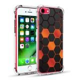 เคส iPhone SE 2 / 8 / 7 Polygon Series 3D Anti-Shock Protection TPU Case [PG002]