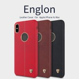 เคส iPhone XS Max Nillkin Englon Retro Leather Case