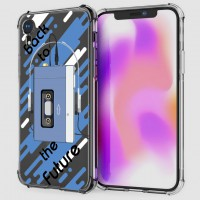 เคส iPhone XR Anti-Shock Protection TPU Case [Back to the Future]