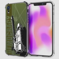 เคส iPhone XR War Series 3D Anti-Shock Protection TPU Case [WA001]
