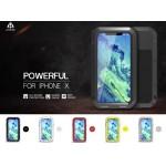 เคส iPhone X / XS Lovemei Powerful Metal Bumper [ปกป้องทั้งตัวเครื่อง]