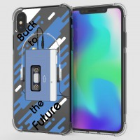 เคส iPhone XS Max Anti-Shock Protection TPU Case [Back to the Future]