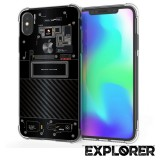 เคส iPhone XS Max [Explorer Series] 3D Anti-Shock Protection TPU Case
