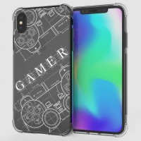 เคส iPhone XS Max Anti-Shock Protection TPU Case [Gamer Illustration]