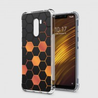 เคส Pocophone F1 Polygon Series 3D Anti-Shock Protection TPU Case [PG002]
