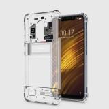 เคส Pocophone F1 Explorer Series 3D Anti-Shock Protection TPU Case [Transparent]