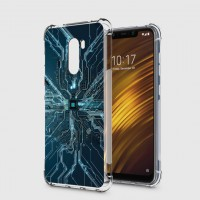 เคส Pocophone F1 Digital Series 3D Anti-Shock Protection TPU Case [DG002]