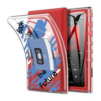 เคส Walkman NW-A100 Slim Protection TPU Case [Back to the Future]