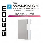 เคส Walkman NW-A45 / A46 / A35 / A36 ELECOM Slim Clear Shell Cover [สินค้าจากญี่ปุ่น]