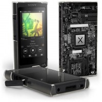 เคส Walkman NW-A45 / A46 / A35 / A36 Black Series Slim Back Cover [BK001]