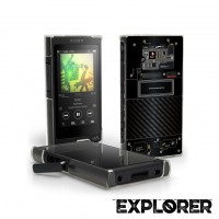 เคส Walkman NW-A45 / A46 / A35 / A36 [Explorer Series] 3D Slim Back Cover