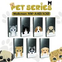 เคส Walkman NW-A45 / A46 / A35 / A36 Pet Series Slim Back Cover