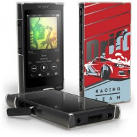 เคส Walkman NW-A45 / A46 / A35 / A36 Slim Back Cover [Racing Team]