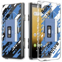 เคส Walkman NW-ZX500 Slim Protection TPU Case [Back to the Future]