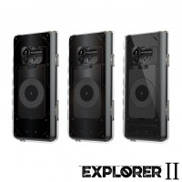เคส Walkman NW-ZX500 [Explorer II Series] 3D Slim Protection TPU Case