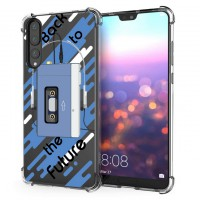 เคส Huawei P20 Pro Anti-Shock Protection TPU Case [Back to the Future]