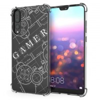 เคส Huawei P20 Pro Anti-Shock Protection TPU Case [Gamer illustration]
