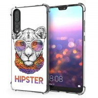 เคส Huawei P20 Pro Anti-Shock Protection TPU Case [HIPSTER]